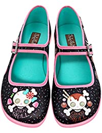 Chocolaticas Candy Skull Women's Mary Jane Flat