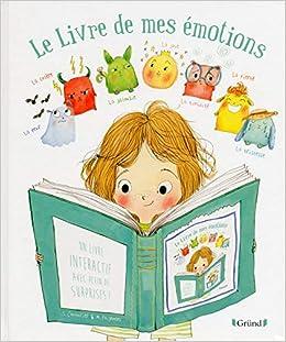 Livre De Mes Emotions Le Amazon Ca Stephanie Couturier