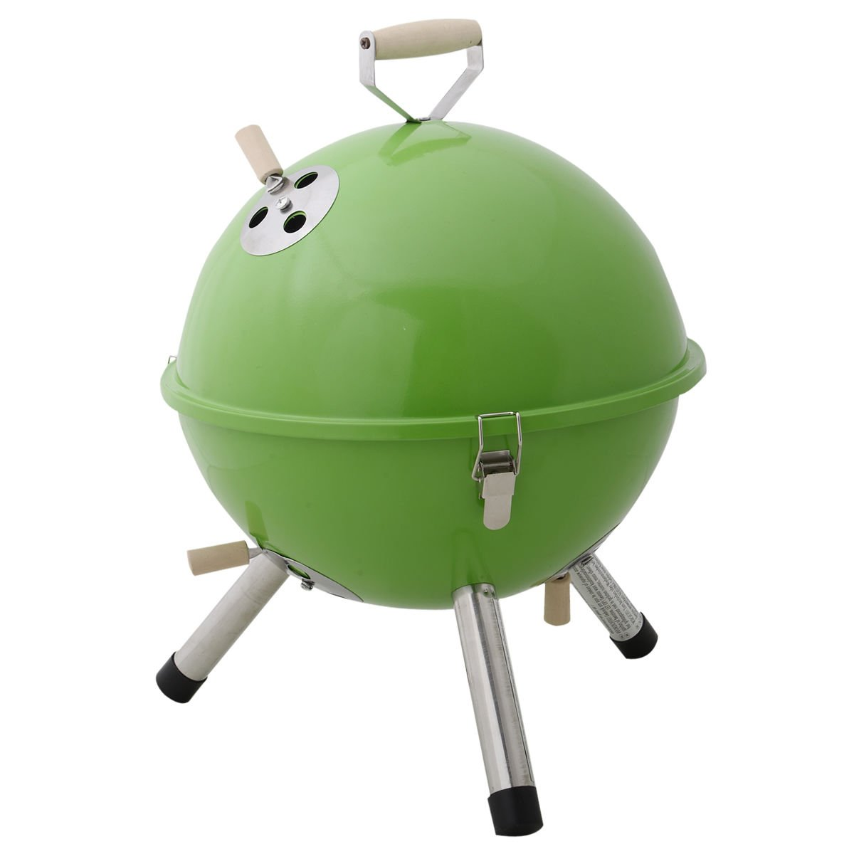 charcoal grill kettle - TOOGOO(R)portable bbq round barbecue grill charcoal garden travel outdoor & home& camping