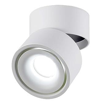 Dr Lazy Indoor 10w Led Spotlight 360 Adjustable Ceiling Spots Downlight Surface Mounted Cob Lighting Led 10x10cm Aluminum Wall Lamp Or Spot Light
