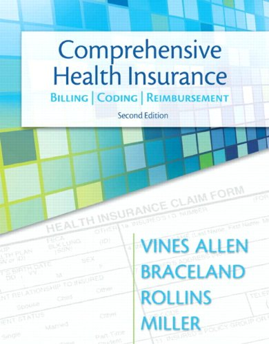 Comprehensive Health Insurance: Billing, Coding & Reimbursement Plus NEW MyHealthProfessionsLab with Pearson eText -- Access Card Package (2nd Edition) (MyHealthProfessionsLab Series) by Brand: Prentice Hall