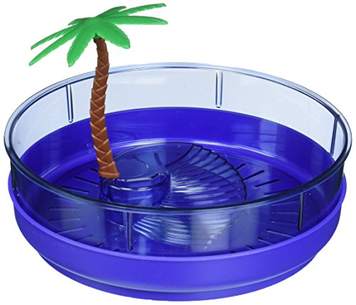 Lee's Deluxe Turtle Lagoon, Round w/Tray and Plant, Small