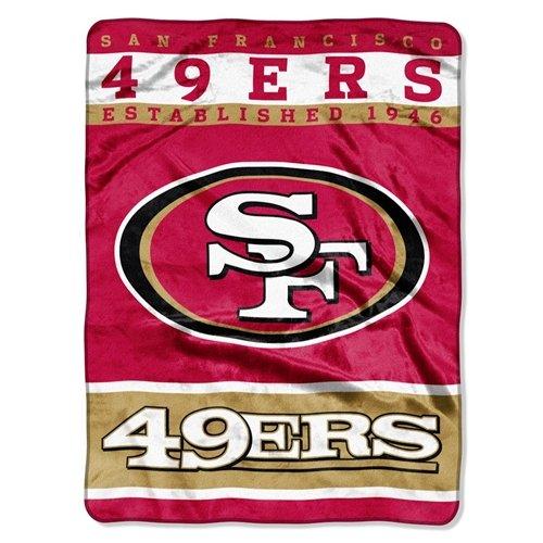 60' Royal Plush Blanket - San Francisco 49ers 60''x80'' Royal Plush Raschel Throw Blanket - 12th Man Design