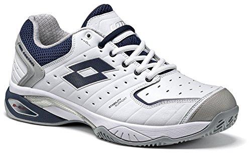 Lotto Sport Chaussures de aviator Weiß white Cly Tennis Raptor Lth Homme blue Rr6fWa1R