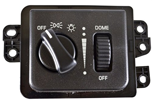 - PT Auto Warehouse HLS-1014 - Headlight Switch - without Cargo Light, without Fog Lights