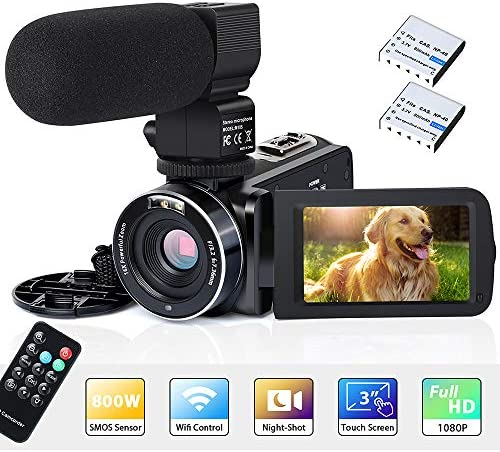 Camcorder YouTube Vlogging Recorder Microphone product image