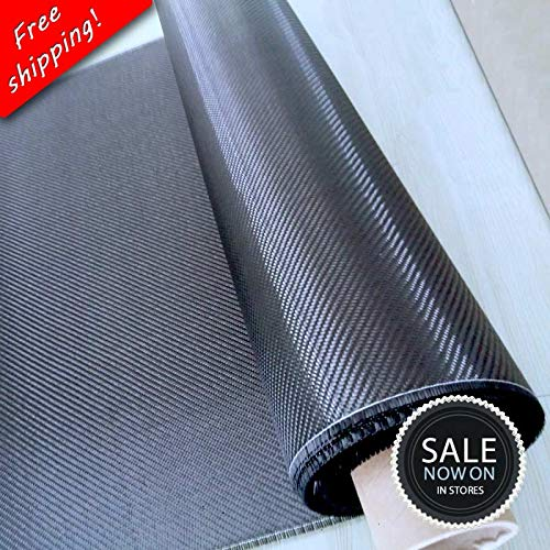 100/% Real Carbon Fiber Cloth 32//82cm width 3K 5.9oz // 200gsm 2x2 twill Carbon Fabric Free shipping Grade A+ SHIP BY ROLL UP