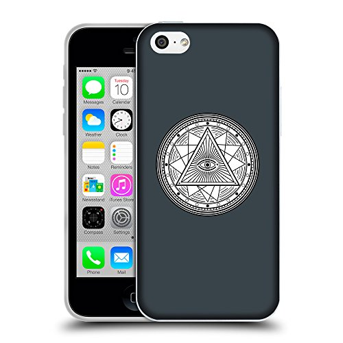 GoGoMobile Coque de Protection TPU Silicone Case pour // Q09690606 Mystique occulte 18 Arsenic // Apple iPhone 5C