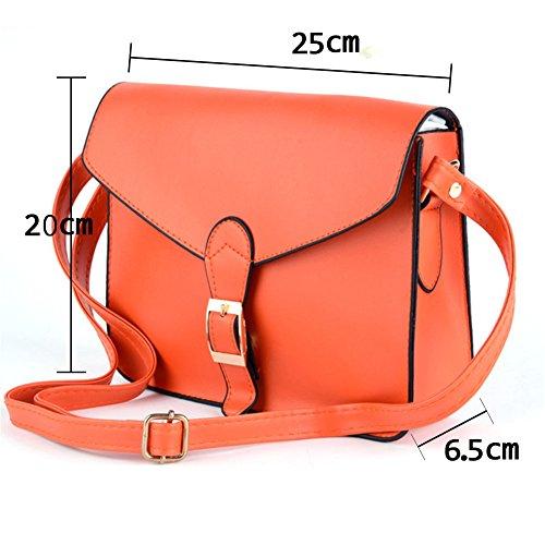 Small Shouder Package Orange Envelope Women Bag Crossbody New XMLiZhiGu WXPqSP