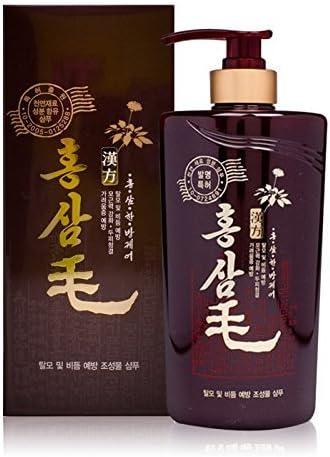 Red Ginseng Mo Shampoo 550ml de prevención de la pérdida de cabello y champú anticaspa