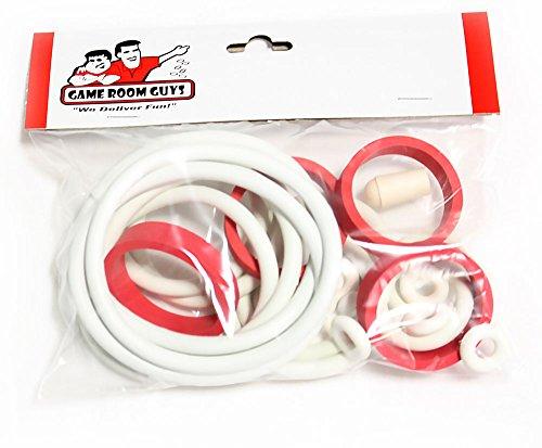 - Game Room Guys Gottlieb Solar City Pinball White Rubber Ring Kit