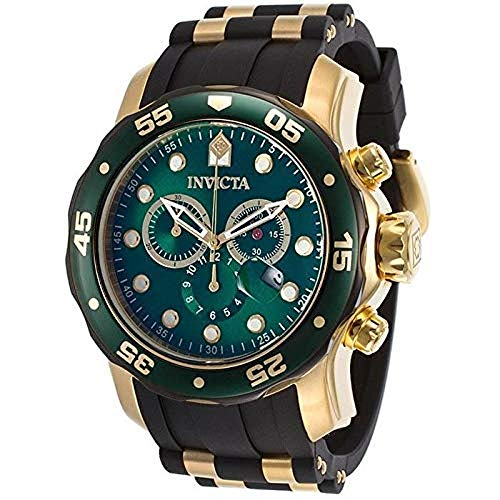 (Invicta Men's 17886 Pro Diver Analog Display Swiss Quartz Black Watch)
