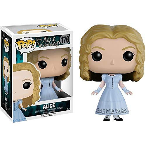 (Funko Alice: Alice in Wonderland x POP! Vinyl Figure & 1 POP! Compatible PET Plastic Graphical Protector Bundle [#176 / 06710 -)