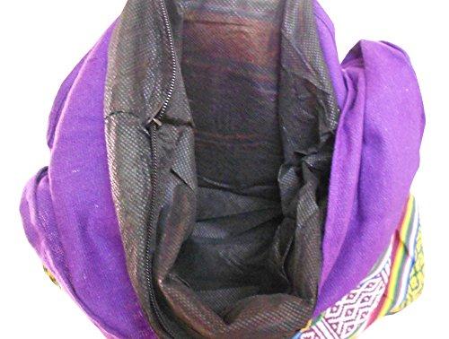 Kalra Creations, Borsa a tracolla donna multicolore Multi Color