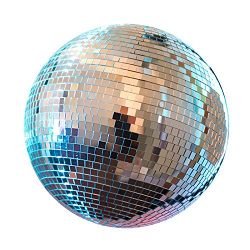 "Disco Ball 12"" Mirror Ball DJ Party Motor Combo Light Kit Solid Construction new"