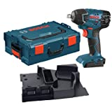 Bosch 24618BL Bare-Tool 18-Volt Lithium-Ion 1/2-Inch Square Drive Impact Wrench with L-BOXX-2 and Exact-Fit Tool Insert Tray