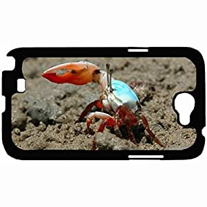New Style Customized Back For HTC One M7 Case Cover Hardshell , Back Fiddler Crab Personalized For HTC One M7 Case Cover