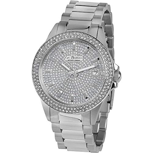 Jacques Lemans La Passion LP-129A Wristwatch for women With Swarovski crystals