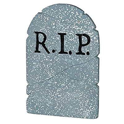 RIP Tombstone Halloween Decoration: Toys & Games