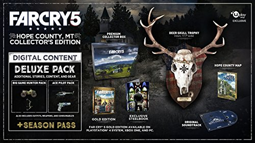 Far Cry 5 Hope County MT Collector's Edition XBOX ONE (Microsoft XBOX ONE 2018) UBIsoft