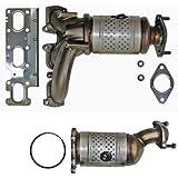 Catalytic Converter for Ford Explorer 3.5 (2011, 2012) Set Left Right - Not