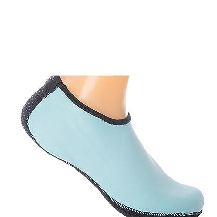 Barefoot agua diseño de zapatos de piel suela Aqua ...