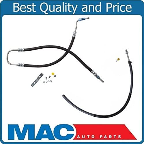 Fits For 06-07 Jeep Liberty Power Steering Pressure /& Return Hoses 2Pc Kit