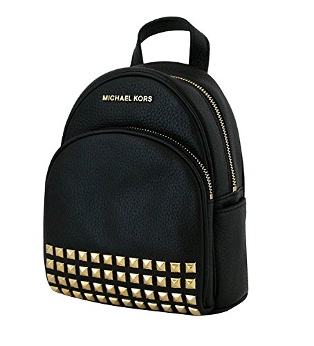 michael michael kors abbey black xsmall studded backpack buy rh desertcart ae