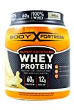 Body Fortress Whey Protein Powder, Vanilla, 31.2 Ounces (885g)  (Pack of 2) For Sale