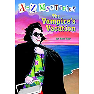 A to Z Mysteries: The Vampire's Vacation Audiobook