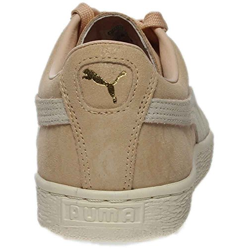 US Suede Sneakers Women's PUMA M Whisper Classic White 9 B Natural Gold Shine gCqw7