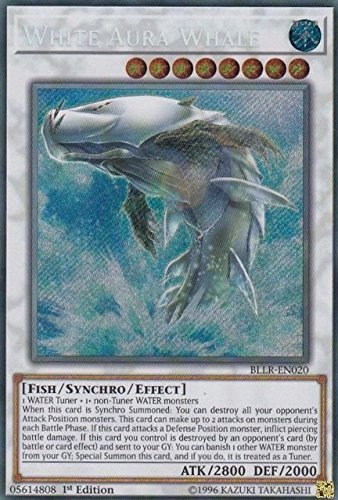 Yu-Gi-Oh! - White Aura Whale - BLLR-EN020 1st Edition - Secret - 1st En020 Edition
