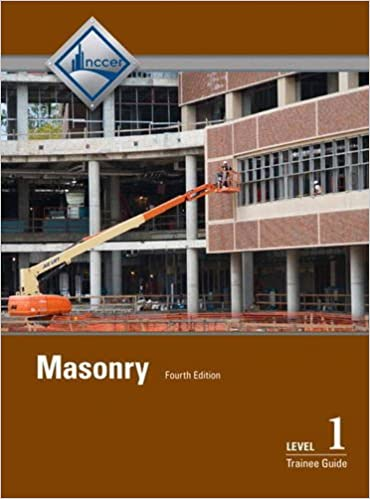 Masonry Level 1 Trainee Guide, Hardcover (4th Edition)