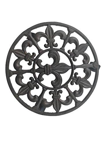 cast iron flower pot holder - 4