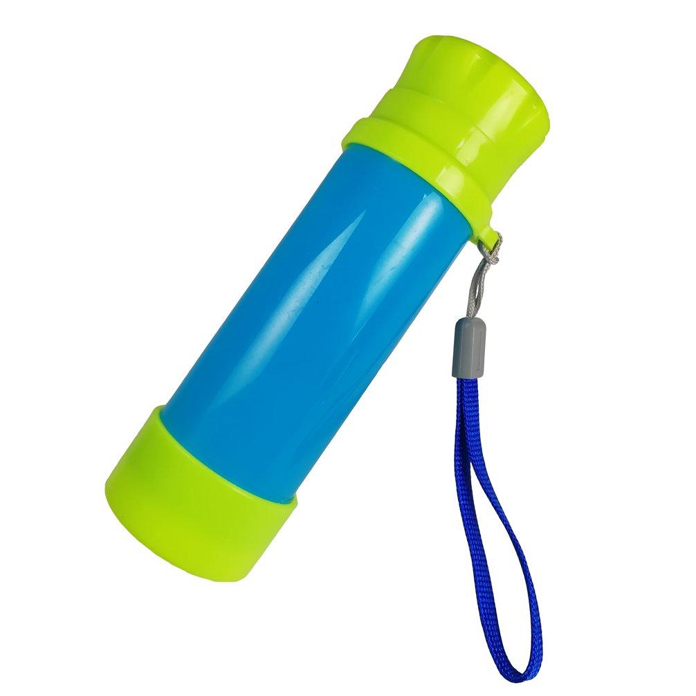 Luwint Portable Pocket Pirate Monocular Telescope - Retractable Educational Science Toys Spyglass Kids Boys Girls Aged 3-6 Years Old (Light Blue/Blue) DreamsEden TMM-2jWYJ-LBLBL