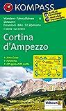 Cortina d'Ampezzo: Wanderkarte mit Kurzführer, Radrouten und alpinen Skirouten. GPS-genau. Dt. /Ital. 1:50000 (KOMPASS-Wanderkarten, Band 55)