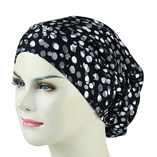 Lightweight Sleep Satin Slap Cap Long Hair Wind Cap Travel Bonnet