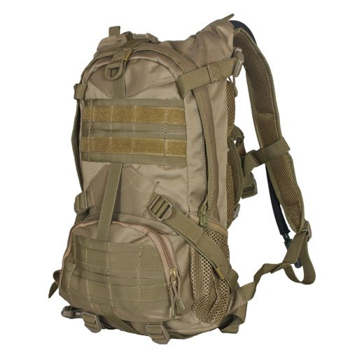 Fox Outdoor Products Elite Excursionary Hydration Pack, Coyote