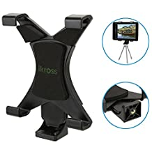 iKross 7 - 10.2 inch Tablet Universal Tripod Mount Adapter with 1/4-20 Connector - (12.5-20 cm Adjustable Width)