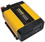 Power Drive RPPD1000 1000-Watt DC to AC Power Inverter wi...