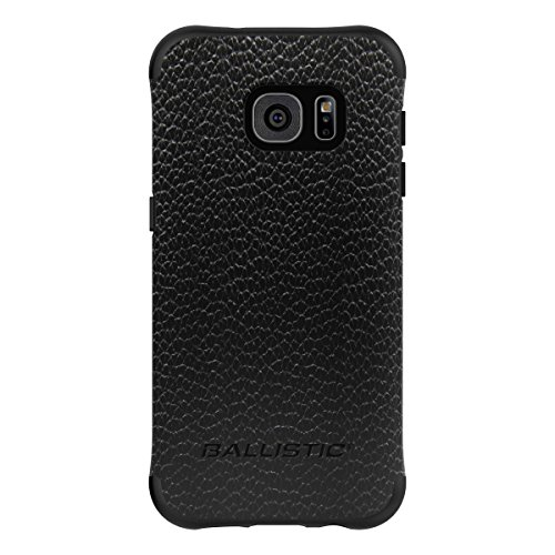 picture of Ballistic Cell Phone Case for Samsung Galaxy S7 - Retail Packaging - Black/Buffalo Leather