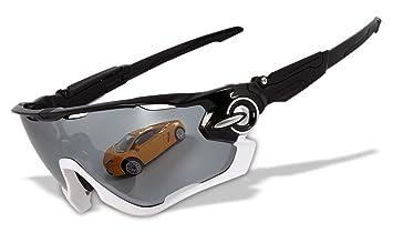 4 lentes cromado Iridio switchlock marco pulido Original polarizadas gafas de deporte (JB),
