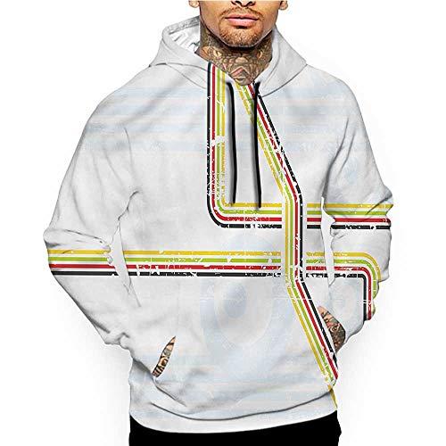Hoodies Sweatshirt Pockets Modern,Futuristic Geometric,Zip up Sweatshirts for Women