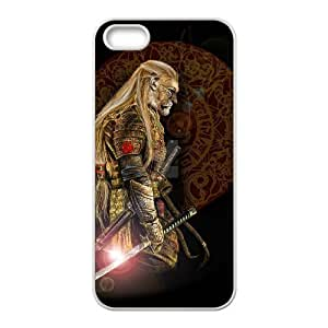 STR5-Custom Phone Case Lion Warrior For iPhone 5,5S