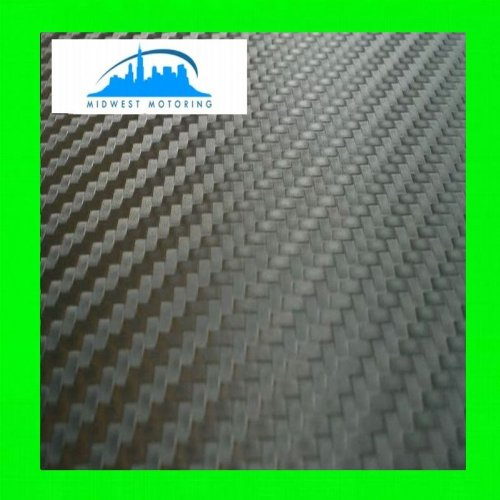 2003-2006 MITSUBISHI ECLIPSE CARBON FIBER VINYL WRAP SHEET / FILM (60