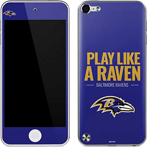 Baltimore Ravens Ipod Skin (Baltimore Ravens iPod Touch (5th Gen&2012) Skin - Baltimore Ravens Team Motto | NFL X Skinit Skin)
