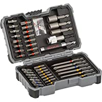 Bosch 2607017326 Set de 43 Unidades para atornillar y Llaves de Vaso (Ph,Pz,SL,H,T,TH), Herramientas, 0
