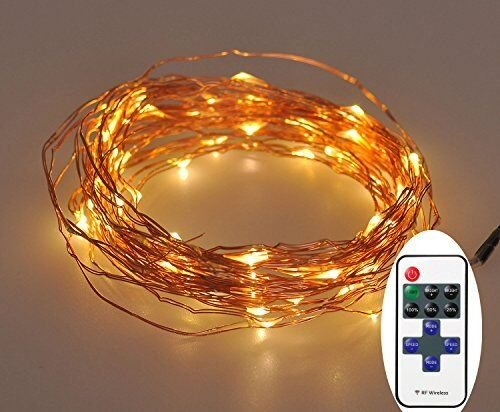 Dimmable christmas Starry String Lights Warm product image
