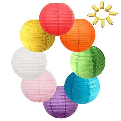 Neo LOONS 8 Assorted Colors 12 Inch Round