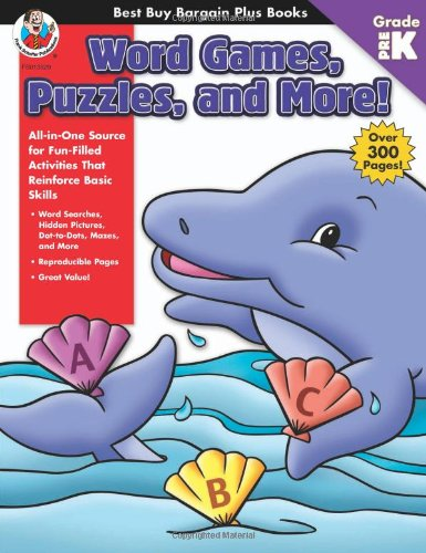Word Games, Puzzles, and More! Grade Pre-K (Best Buy Bargain Plus Books)